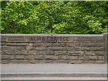 SJ9398 : Alma Bridge, Tameside by David Dixon