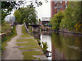 SJ9398 : Ashton Canal, Prince's Dock by David Dixon
