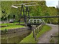 SJ9397 : Peak Forest Canal Bridge#1, Dukinfield Lift Bridge by David Dixon
