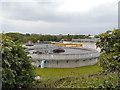 SJ9397 : Sewage and Water Treatment Plant, Dukinfield by David Dixon