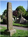 SK1783 : Anglo Saxon Cross by Stephen Burton
