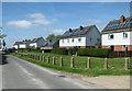 TM4294 : Housing in Bull's Green Lane, Toft Monks by Evelyn Simak