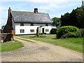 TM4194 : Bull's Green Farm (farmhouse) by Evelyn Simak
