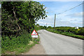 TM4094 : View along Beccles Road by Evelyn Simak