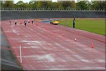 NZ5019 : Athletics Meeting, Clairville Stadium by Mick Garratt