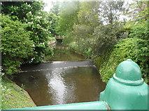 TL5646 : River Granta at Linton by Bikeboy