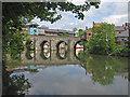 NZ2742 : Elvet Bridge, Grade I listed by Pauline E