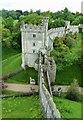 TQ0107 : Arundel Castle: Curtain Walls by Rob Farrow