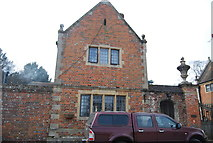 TR0653 : Gatehouse, Chilham Castle by N Chadwick