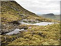 NN5039 : Mountain Lochan by wrobison