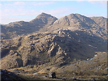 NM8893 : Evening view of Sgurr na Ciche by Sally