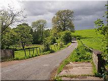 NO1426 : Murrayshall Road, by Annaty Burn by Rob Burke