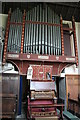 SE8000 : Organ, St Martin's church, Owston Ferry by J.Hannan-Briggs