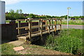 SP9940 : Footpath from Millbrook Road by Philip Jeffrey