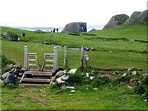 D0345 : Stile near Ballintoy by Kenneth  Allen