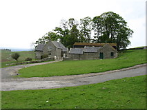 NY7868 : Housesteads Farm by David Purchase