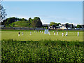 TQ4109 : Two cricket matches, Lewes by Robin Webster