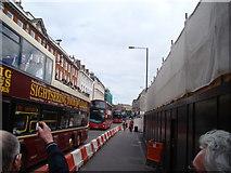 TQ2879 : View up Buckingham Palace Road by Robert Lamb
