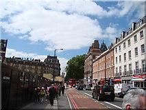 TQ2879 : View down Buckingham Palace Road by Robert Lamb