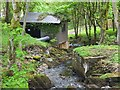 NT1125 : Hydro plant at Hearthstane by Jim Barton