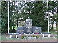 TL7439 : U.S.A.A.F. Ridgewell Memorial by Keith Evans