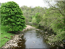 NY6266 : The River Irthing by David Purchase