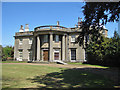SE8675 : Scampston Hall, West elevation by Pauline E