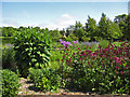 SE8675 : View from a seat in a walled garden by Pauline E