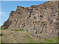 NT2772 : Salisbury Crags by Anne Burgess