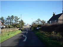 NU0445 : Level crossing at The Haven by DS Pugh
