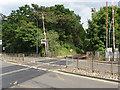 SU9566 : Level crossing, Sunningdale by Alan Hunt