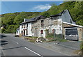 SO2212 : Derelict former Rock and Fountain Hotel, Clydach by Jaggery