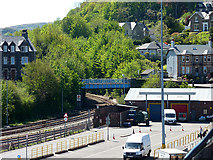NM8529 : Railway entering Oban by John Lucas