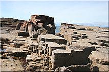 NJ1570 : Sandstone Formation by Anne Burgess
