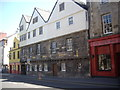 NT2673 : Huntly House and Bakehouse Close, Canongate by Stanley Howe