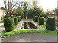 SO9522 : Ornamental pond, Sandford Park, Cheltenham by Jaggery