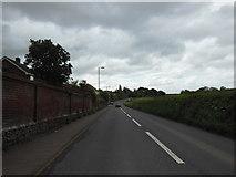 SX9896 : The B3181 towards Pinhoe by Ian S