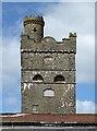 NX5948 : Corseyard Dairy Tower by Walter Baxter