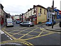 H4472 : Box junction, John Street, Omagh by Kenneth  Allen