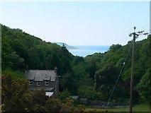 SH6216 : Isolated house above Barmouth by Eirian Evans
