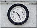 J4552 : The Market House clock, Crossgar by Albert Bridge