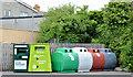 J4552 : Recycling bins, Crossgar by Albert Bridge