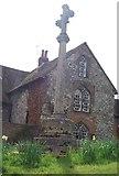 TQ6668 : Cross, Parish Church of St Mary Magdalene by N Chadwick