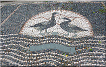 NY0603 : Gosforth Mosaic by Anne Burgess