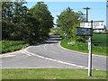 TM4687 : Junction at Hulver Street by Roger Jones