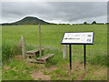 NT5734 : Trimontium information board by Alan Murray-Rust