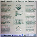 NS1385 : Notice inside Benmore Fernery by David P Howard