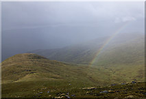 NN6544 : Descent from Meall Garbh by William Starkey