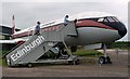 NT5478 : Boarding the Dan-Air Comet at the National Museum of Flight Scotland by Walter Baxter