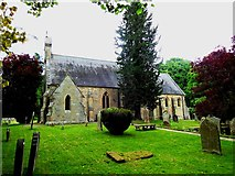 NY8667 : St Peter's Church, Newbrough by Bill Henderson